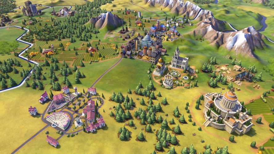 Das Filmstudio der USA gehört zu den neuen Civilization VI Features