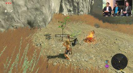 Feuer verbreitet sich in Breath of the Wild dynamisch aus