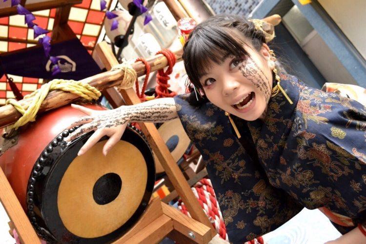 Einer der Ehrengäste der Connichi: Kaneta Rena
