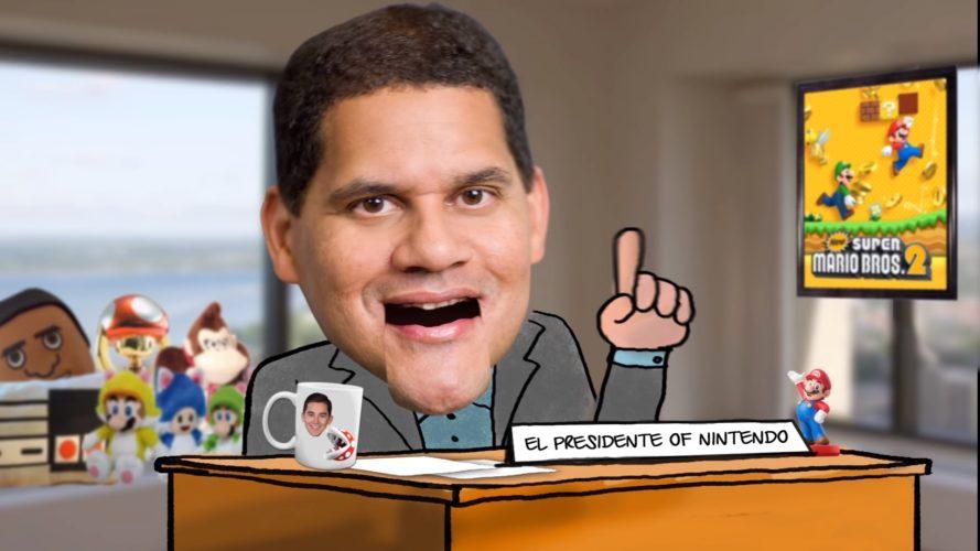 Play Nintendo Show Reggie